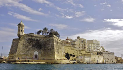Senglea from the Grand Harbour